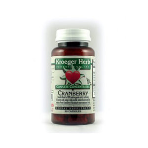 Cranberry 90 CAPS by Kroeger Herb (2587629944917)