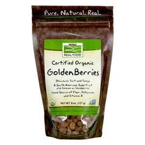 Organic Golden Berries 8 oz by Now Foods (2588136013909)