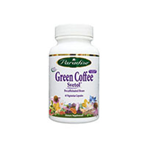 Svetol Green Coffee Bean 60 vcaps by Paradise Herbs