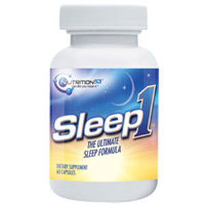 Sleep1 The Ultimate Sleep Formula 60 caps by NUTRITION 53 (2588135194709)