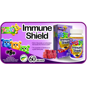 Immune Shield with Sambucus 60 Chews by Dulce Probiotics