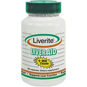 Liverite Liver Aid Plus Milk Thistle 150 caps by Liverite (2587624865877)