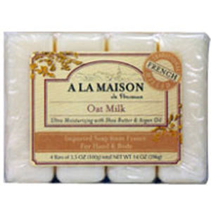 Bar Soap Value Pack Oat Milk 4 CT by A La Maison (2587624767573)