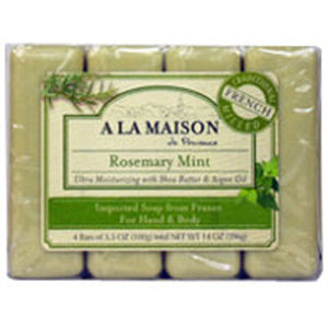 Bar Soap Value Pack Rosemary Mint 4 CT by A La Maison (2588132343893)