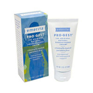 Pro-Gest Cream (Paraben Free) Paraben Free Single Use Packets 48 Pkts by Emerita