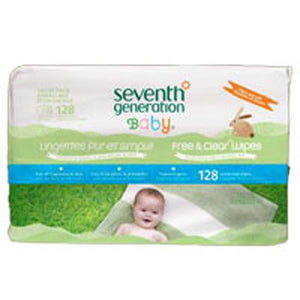 Free And Clear Baby Wipes Refill 128 ct by Seventh Generation (2588132311125)
