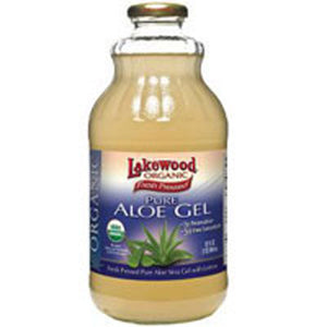 Aloe Vera Gel Juice 32 Oz by Lakewood Organic