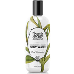 Body Wash Pure Unscented 10 oz by Nourish (2588131983445)