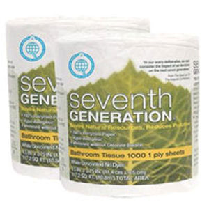 Bathroom Tissue 1-Ply 1000 COUNT(case of 60) by Seventh Generation