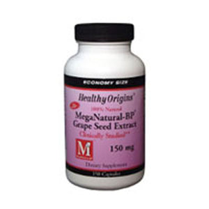 Mega Nattural BP Grape Seed Extract 150 Veg Caps by Healthy Origins