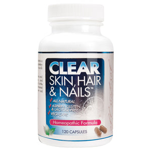 Clear Skin-Hair and Nails 120 vcaps by Clear Products
