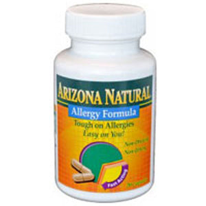 Allergy Formula 60 caps by Arizona Natural Products (2588127232085)