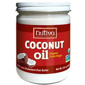 Organic Extra Virgin Coconut Oil 15 OZ by Nutiva