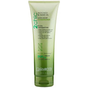 2Chic Ultra-Moist Conditioner Avocado and Olive Oil 8.5 OZ by Giovanni Cosmetics (2587620474965)