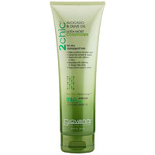 2Chic Ultra-Moist Conditioner Avocado and Olive Oil 8.5 OZ by Giovanni Cosmetics