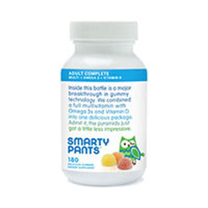 All-in-One Multivitamin Plus Omega-3 Plus Vitamin D 180 COUNT by SmartyPants (2587619328085)