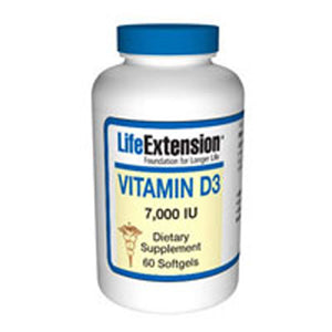 Vitamin D3 60 sgles by Life Extension (2587618574421)