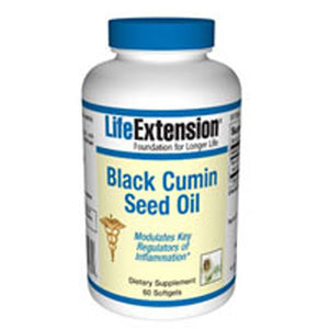Black Cumin Seed Oil 60 softgel by Life Extension (2587618345045)