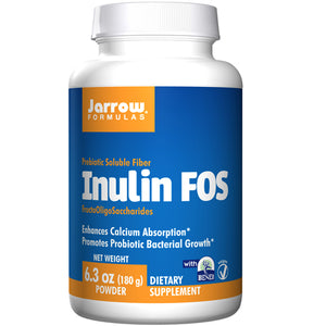 Inulin FOS 180 grams by Jarrow Formulas