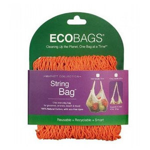 Classic String Bag Tote Handle Mango 1 Bag by Eco Bags (2588123791445)