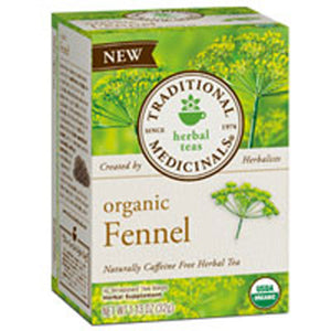 Organic Fennel Tea 16 Bags by Traditional Medicinals Teas (2588122513493)