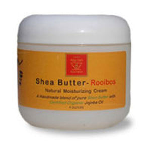 Natural Moisturizing Cream Shea Butter-Rooibos 4 OZ by African Red Tea Imports (2587617067093)