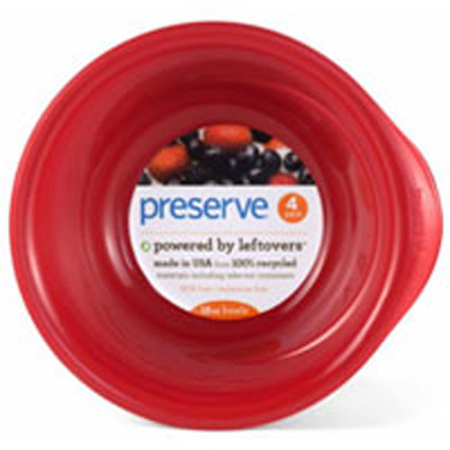 Everyday Tableware Bowls Pepper Red 4 Count by Preserve