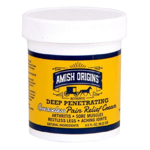 Deep Penetrating Pain Relief Cream 3.5 OZ by Amish Origins