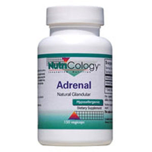 Adrenal Natural Glandular 150 Capsules by Nutricology/ Allergy Research Group