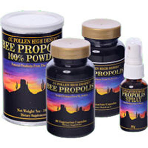 High Desert Propolis Tincture 1 OZ by Cc Pollen (2588118483029)