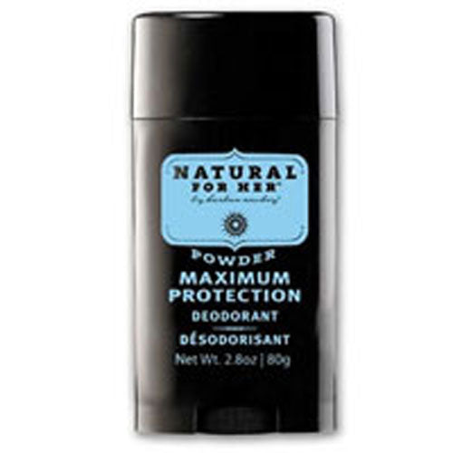 Natural for Her Deodorant Powder Scent 2.8 oz by Herban Cowboy