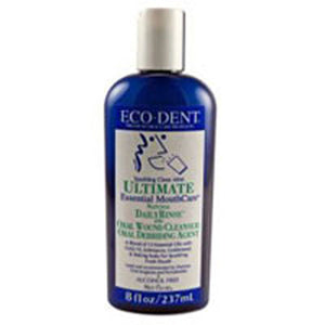 Ultimate Daily Mouth Rinse Sparkling Clean Mint 8 oz by Eco-Dent