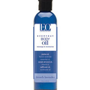 Body Oil French Lavender 8 oz by EO Products (2584199299157)
