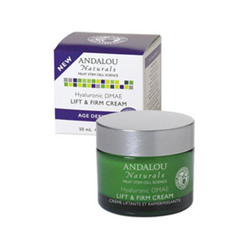 Hyaluronic DMAE Lift & Firm Cream 1.7 Oz by Andalou Naturals