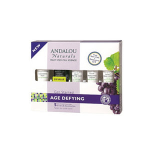 Get Started Age Defying Kit 5 piece by Andalou Naturals (2587614085205)