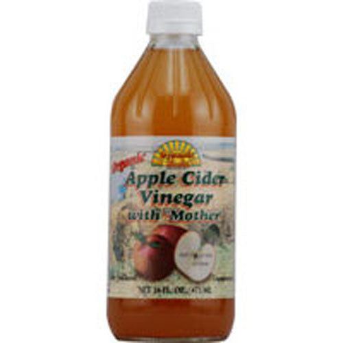 Organic Apple Cider Vinegar with Mother 32 OZ by Dynamic Health Laboratories