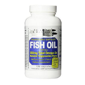 Fish Oil 120 CAPS by Amino Acid & Botanical Supply (2588115304533)