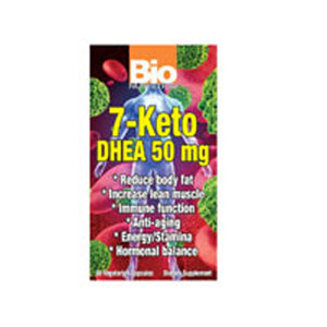 7-KETO DHEA 50 VEG CAPS by Bio Nutrition Inc