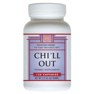 Chi'll Out 120 caps by OHCO (Oriental Herb Company) (2588110159957)