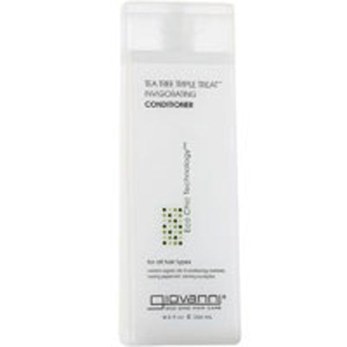 Tea Tree Triple Treat Conditioner 128 oz by Giovanni Cosmetics