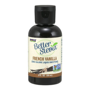 BetterStevia Liquid French Vanilla 2 Oz by Now Foods