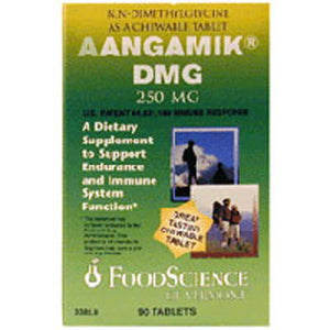 Aangamik DMG Chewable 90 Tabs by Foodscience Of Vermont (2588674719829)