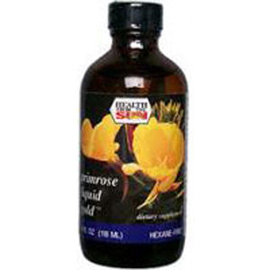 Evening Primrose Oil Liquid Gold Hexane Free 2 Fl Oz by Health From The Sun