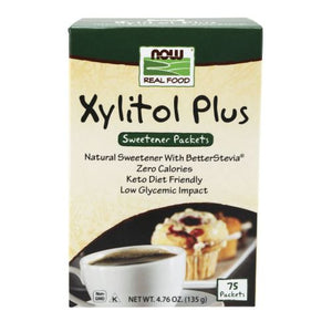 Xylitol Plus 75/box by Now Foods