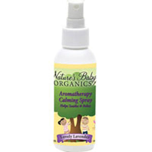 Aromatherapy Calming Spray Lavender 4 Oz by Nature's Baby Organics (2588970123349)