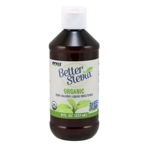 BetterStevia Organic Liquid Extract 8 oz by Now Foods