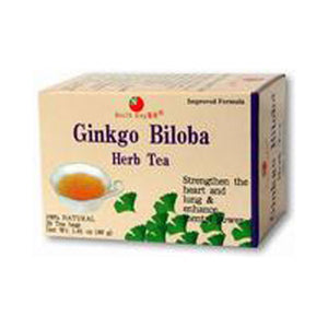 Ginkgo Biloba Herb Tea 20 bag by Health King (2589125279829)