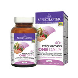 Every Woman's One Daily 40 Plus 24 tabs by New Chapter (2587405811797)
