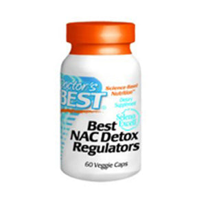 NAC Detox Regulators 60 Veg Capsules by Doctors Best