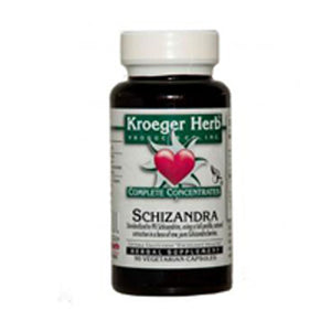 Schizandra Complete Concentrate 90 CAPS by Kroeger Herb (2587408269397)